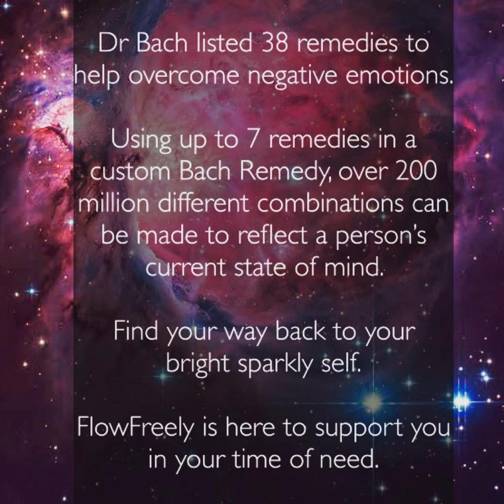 Find your way back to your bright sparkly self. Using Bach Flower Remedies.